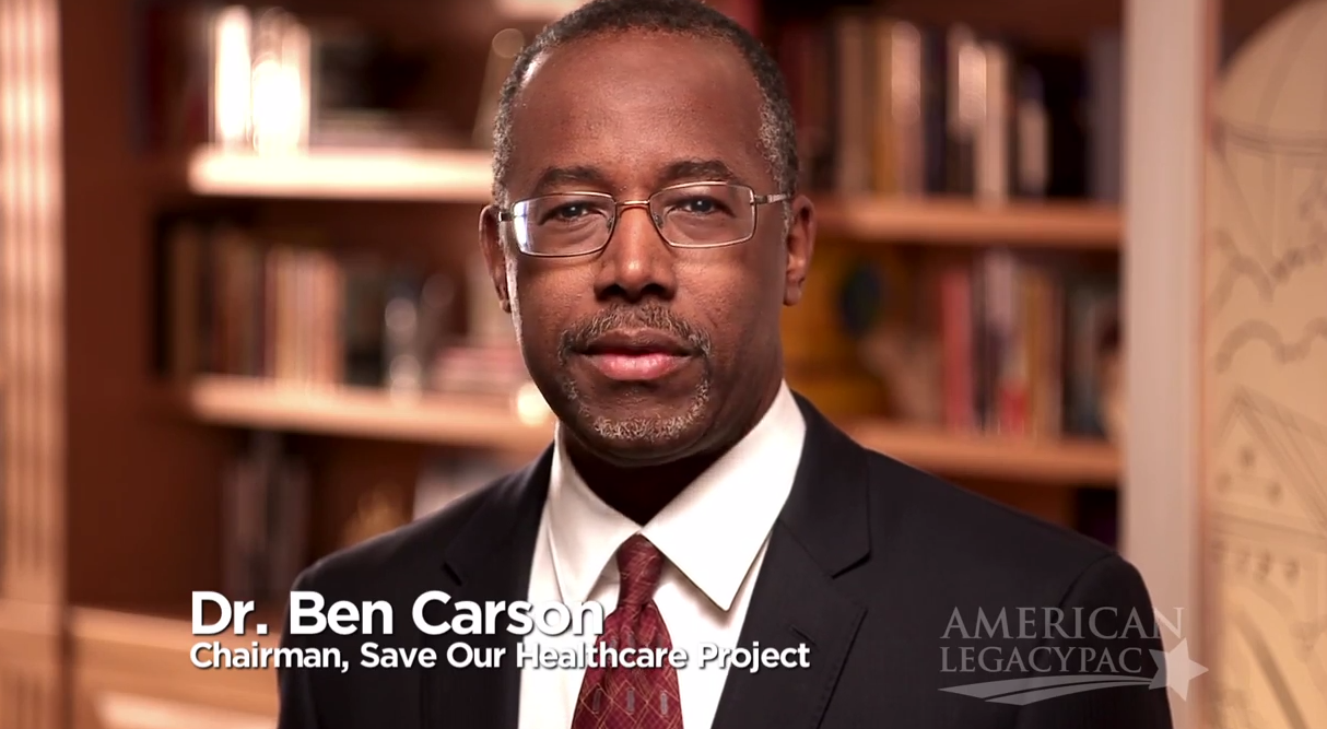 Dr. Ben Carson talks about the principles of healthcare