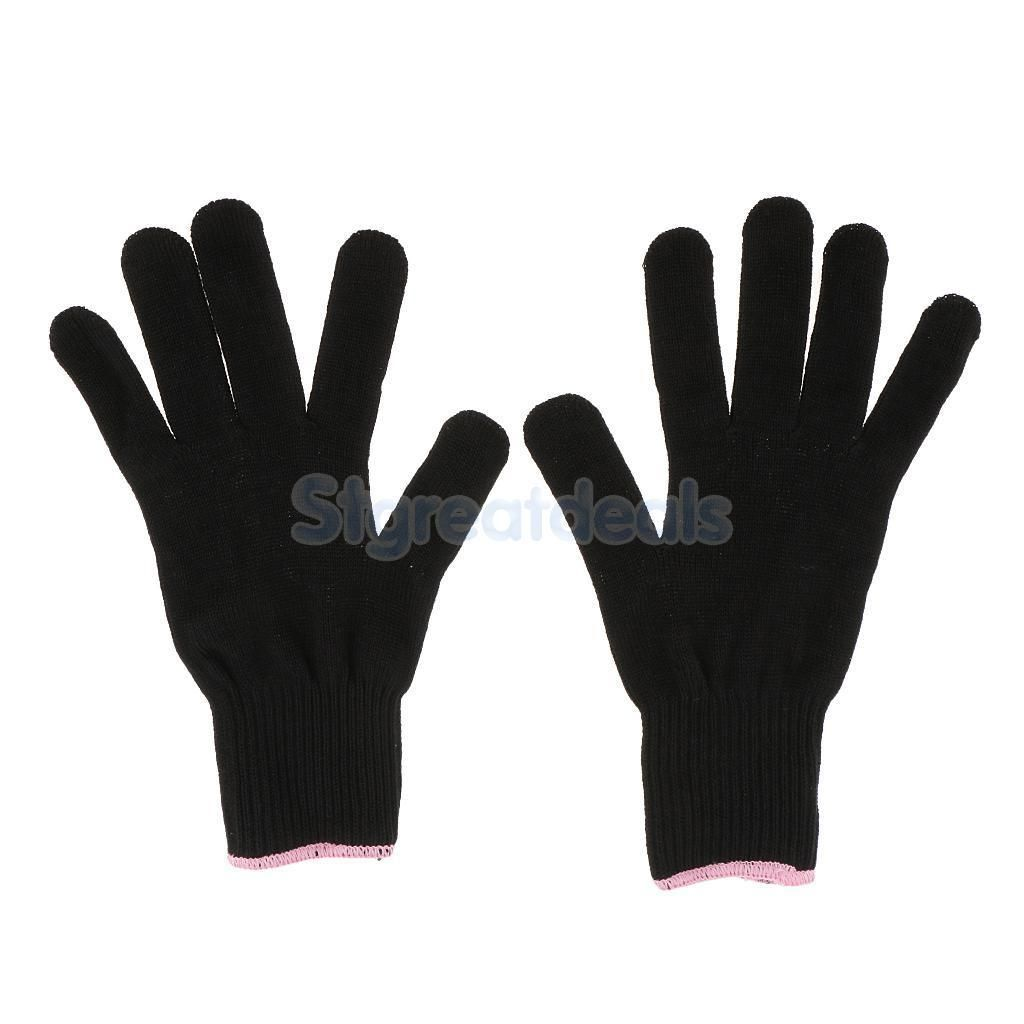 Heat Resistant Protective Gloves Hair Styling For Curling Straight Flat Iron Flat Iron Curls Heatless Curls Overnight Heatless Curls