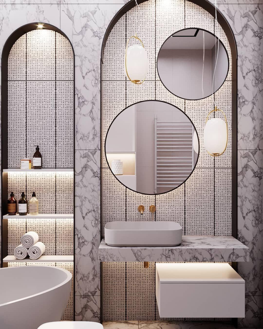 40 Modern Bathroom Decor Ideas Stunning That Will Inspire You To Renovate New 2020 Bathroom Decor Bathroom Design Modern Bathroom Decor Bathroom design ideas 2021