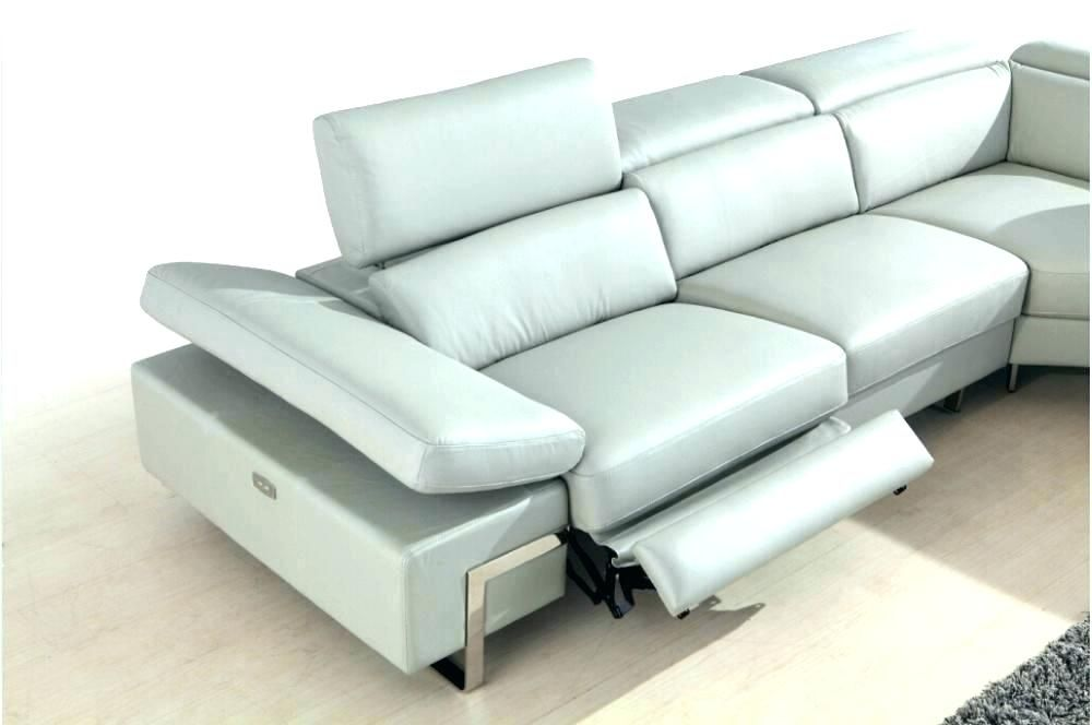 Get a contemporary look with modern leather sofa recliner ...