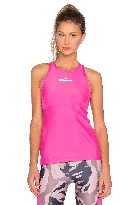 Performance Tank Top in Hot Pink Stella mccartney adidas