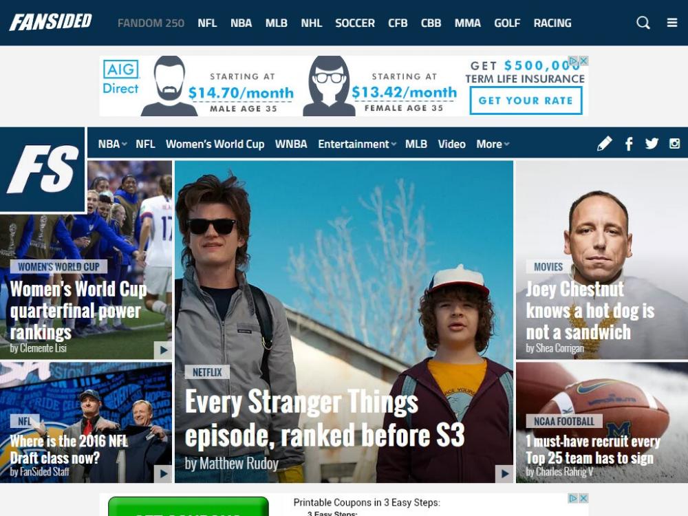 Ideas America Best Websites News Website Sport Football Women S World Cup