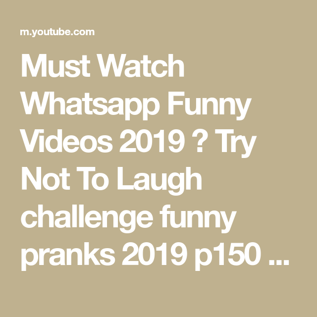you tube funny videos 2019