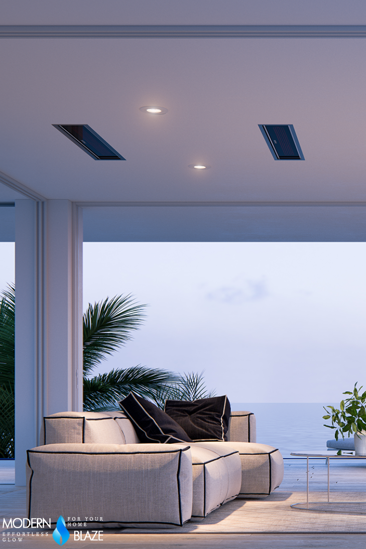 Bromic Platinum Smart Heat Wall Ceiling Mounted Electric Heater In 2020 Outdoor Heaters Backyard Renovations Electric Heater