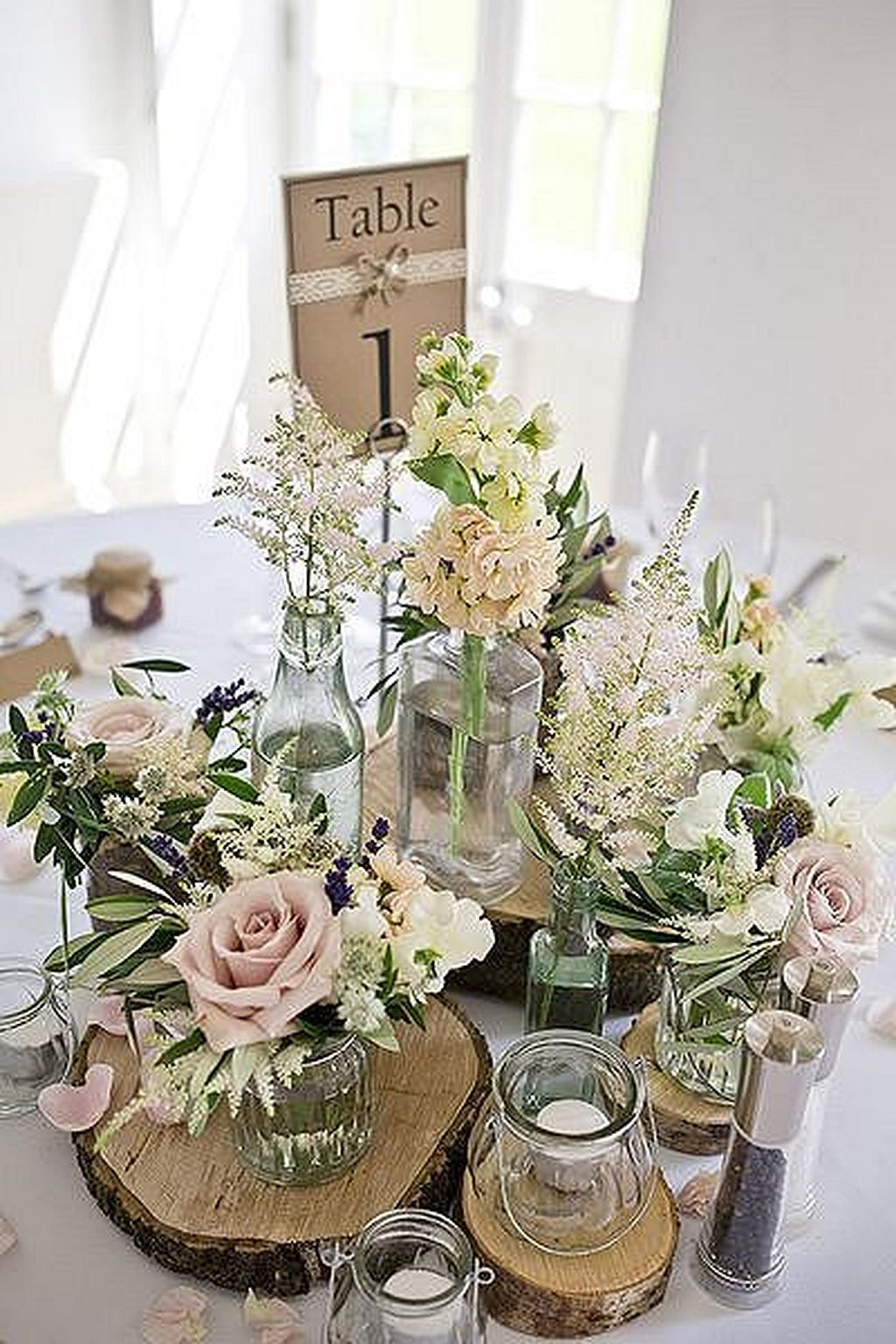 Like Wood Bases Table Avec Images Mariage Table Rustique