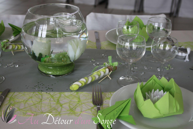 d coration de la salle du repas couleurs blanc et vert. Black Bedroom Furniture Sets. Home Design Ideas