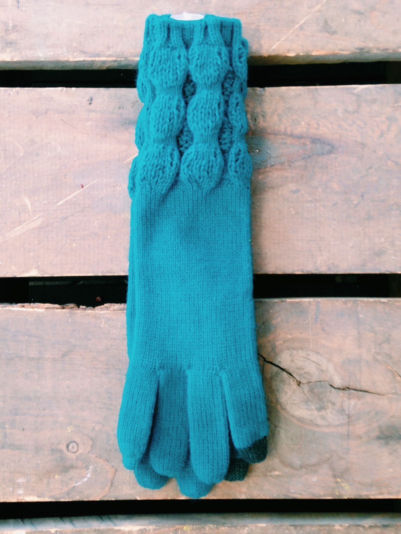 Solid Colored Long Gloves