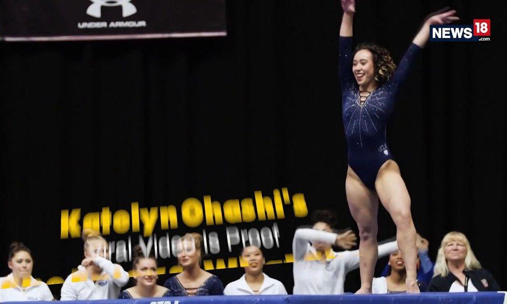 Video of UCLA Gymnast Katelyn Ohashi Goes Viral Career