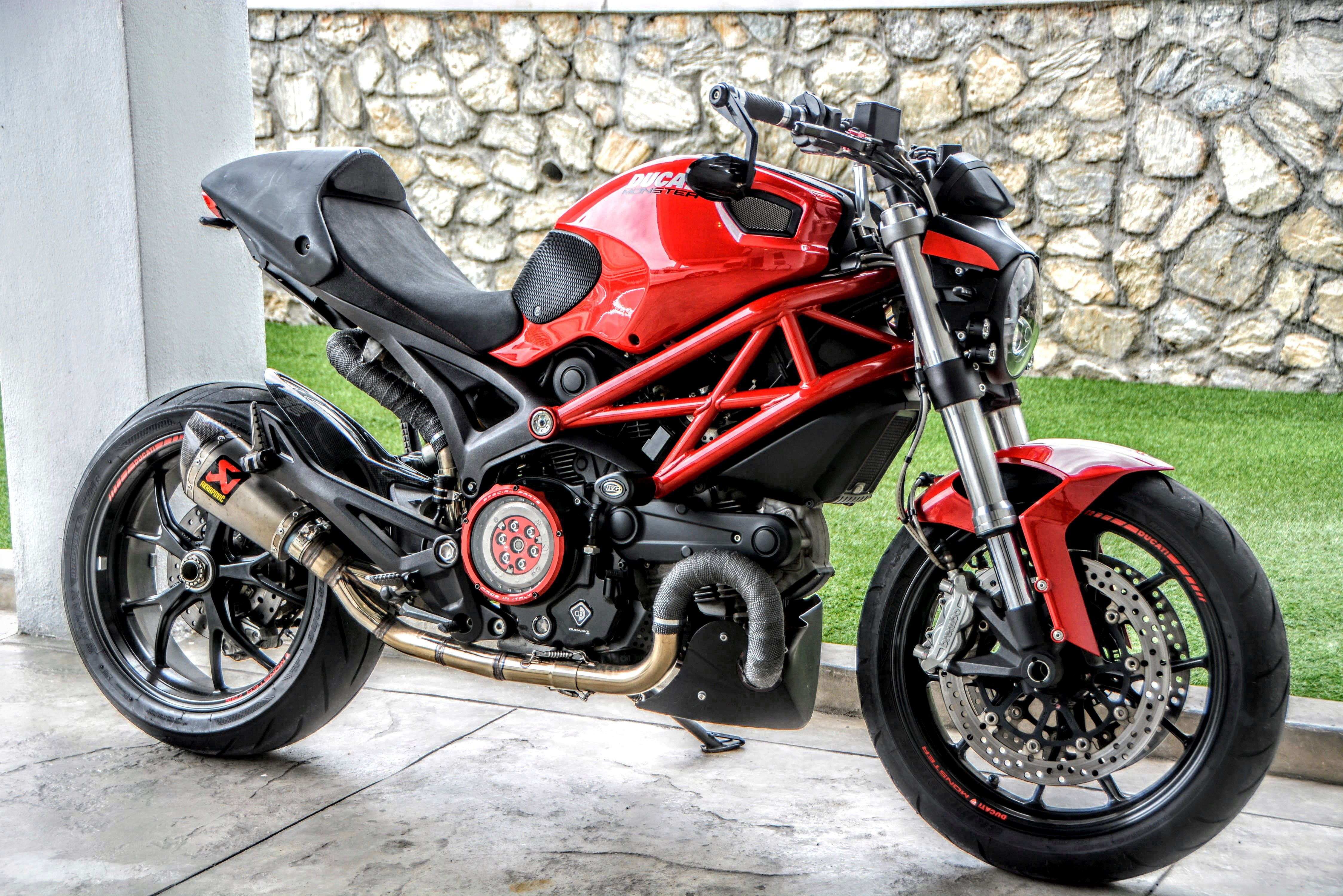 ducati monster 796 custom and headlight replacement by kenstomoto cafe racer street fighter. Black Bedroom Furniture Sets. Home Design Ideas