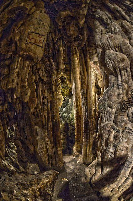 HDRs in Edessa Waterfalls Caves  - HDRs από το σπήλαιο στους Καταρράκτες Έδεσσας #visitgreece