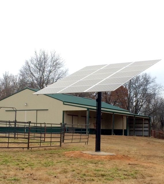 8 Top Of Pole Cowport Solar Barn Plans Solar Power