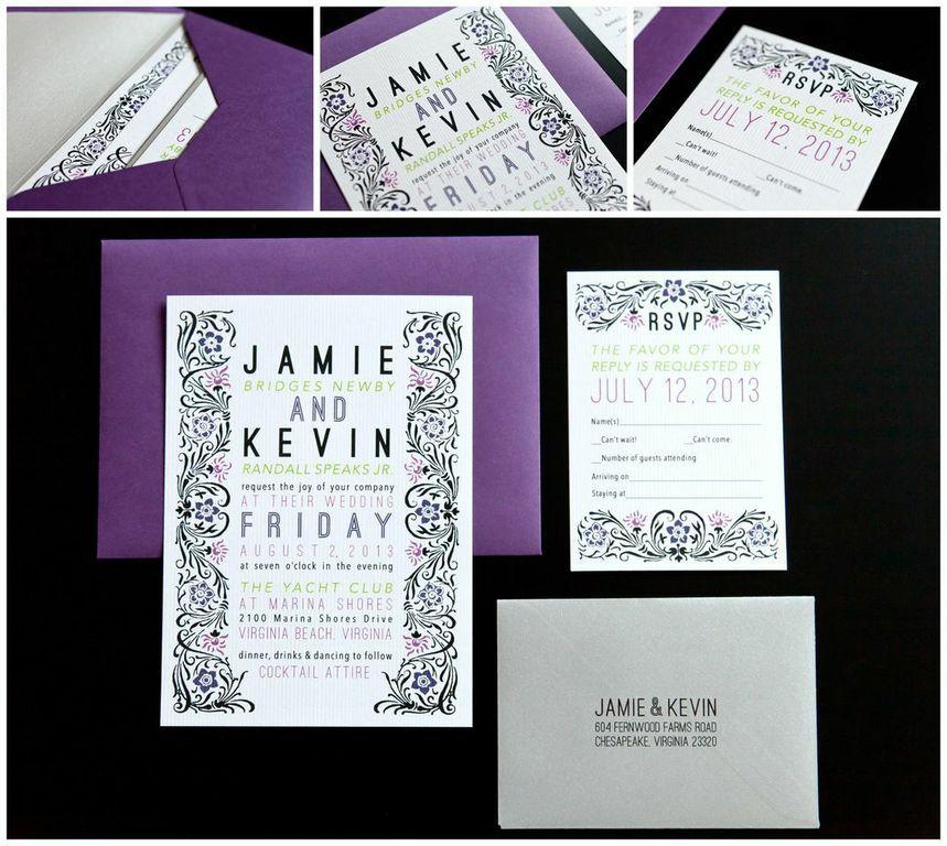 Icanhappy Plum Wedding Invitations 35 Weddinginvitations
