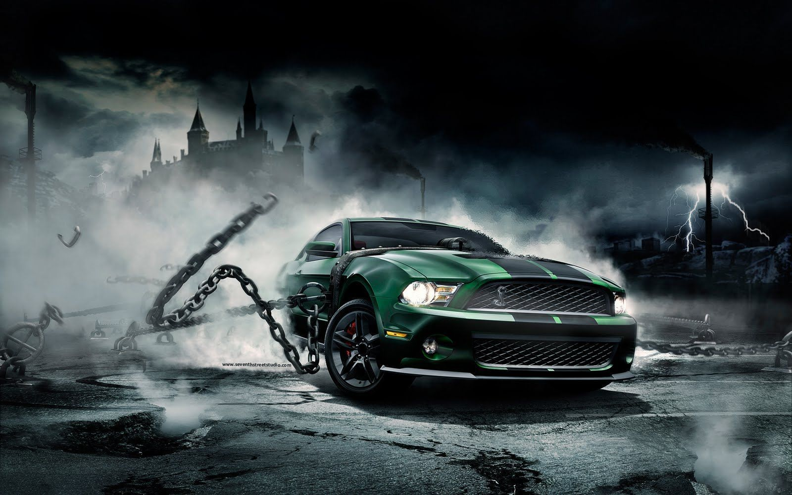 Muscle Cars Wallpaper High Definition I6h Cars Ford Mustang