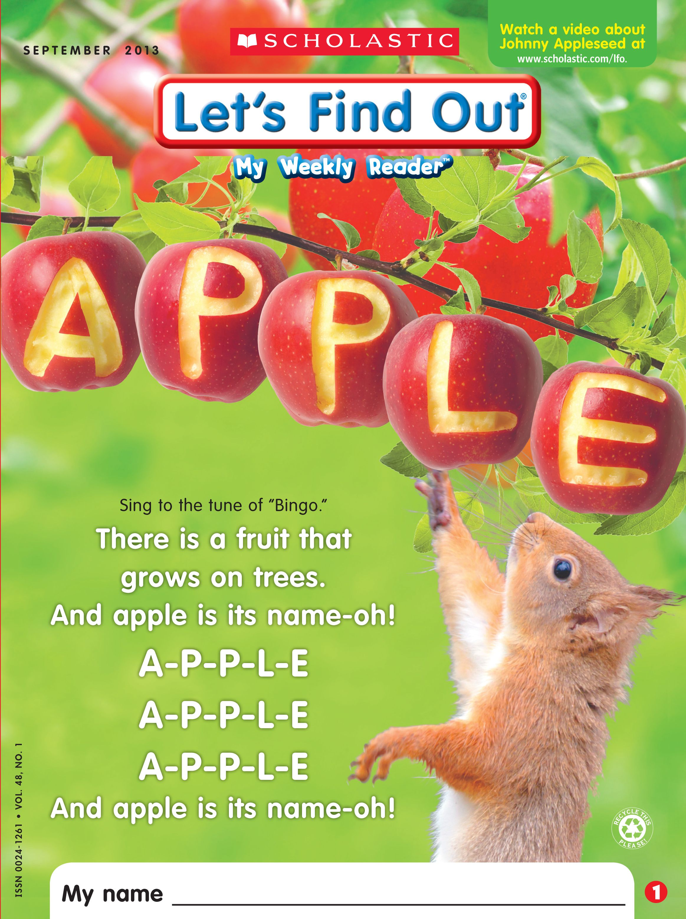 Let S Find Out Magazine S Apple Cover From The