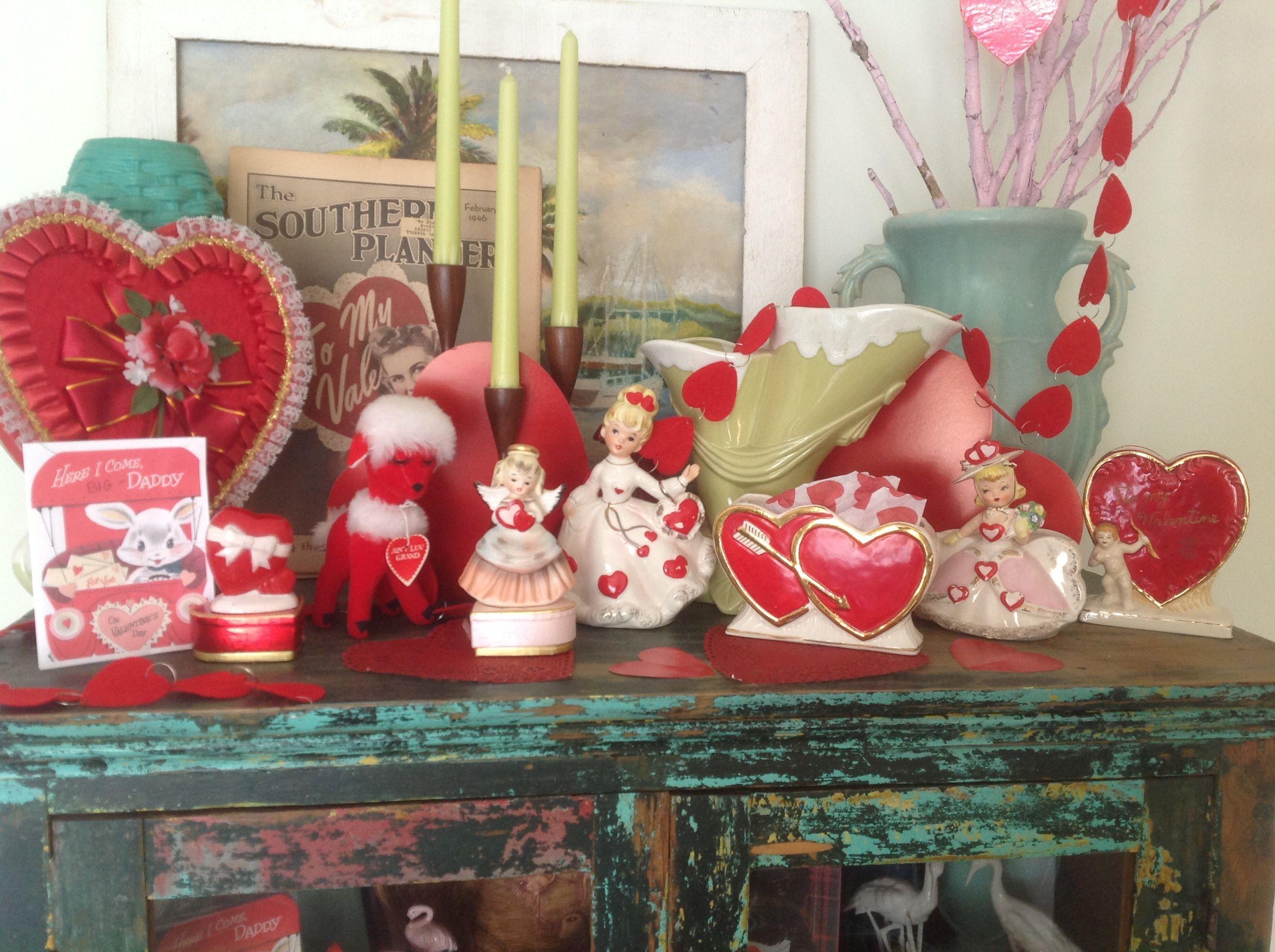 Vintage Valentine Decorations Vintage Valentines Decorations Valentines Art Valentines Inspiration
