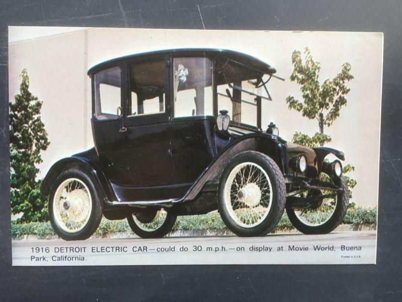 Detroit Electric Car 1916 Auto Oude Auto S Auto S