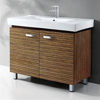 WC020 40-in Single Sink Bathroom Vanity with Ceramic Top