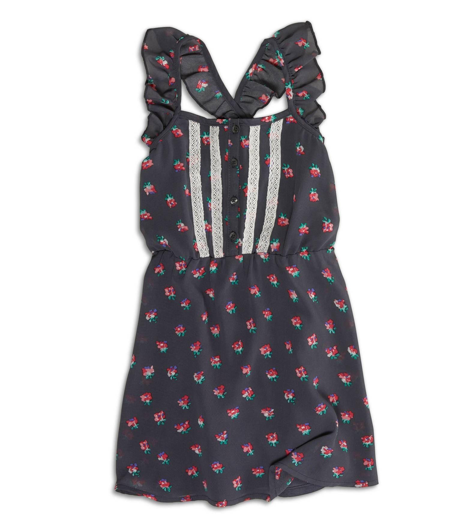 Ae Tassel Hem Trapeze Shift Dress Really Want It Kids Outfits