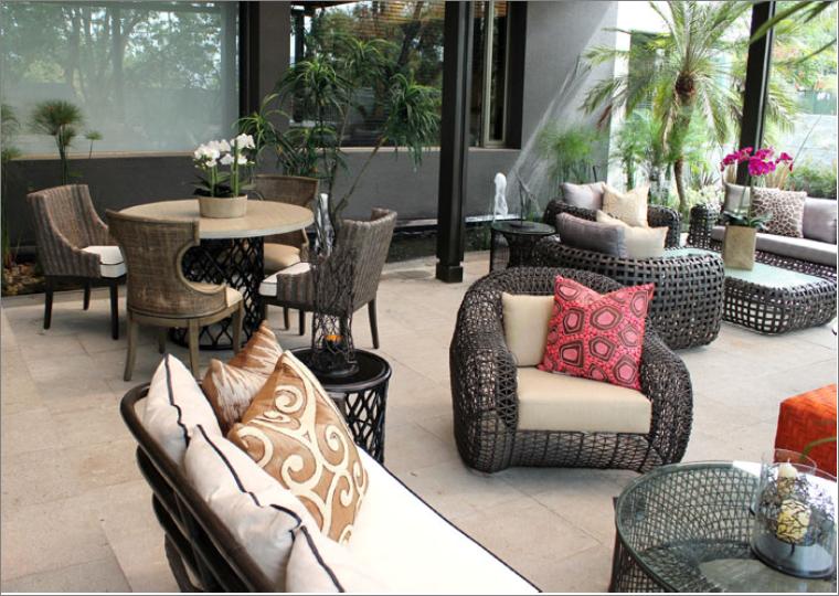 Adriana hoyos showroom quito ecuador outdoor furniture - Sweet home muebles ...