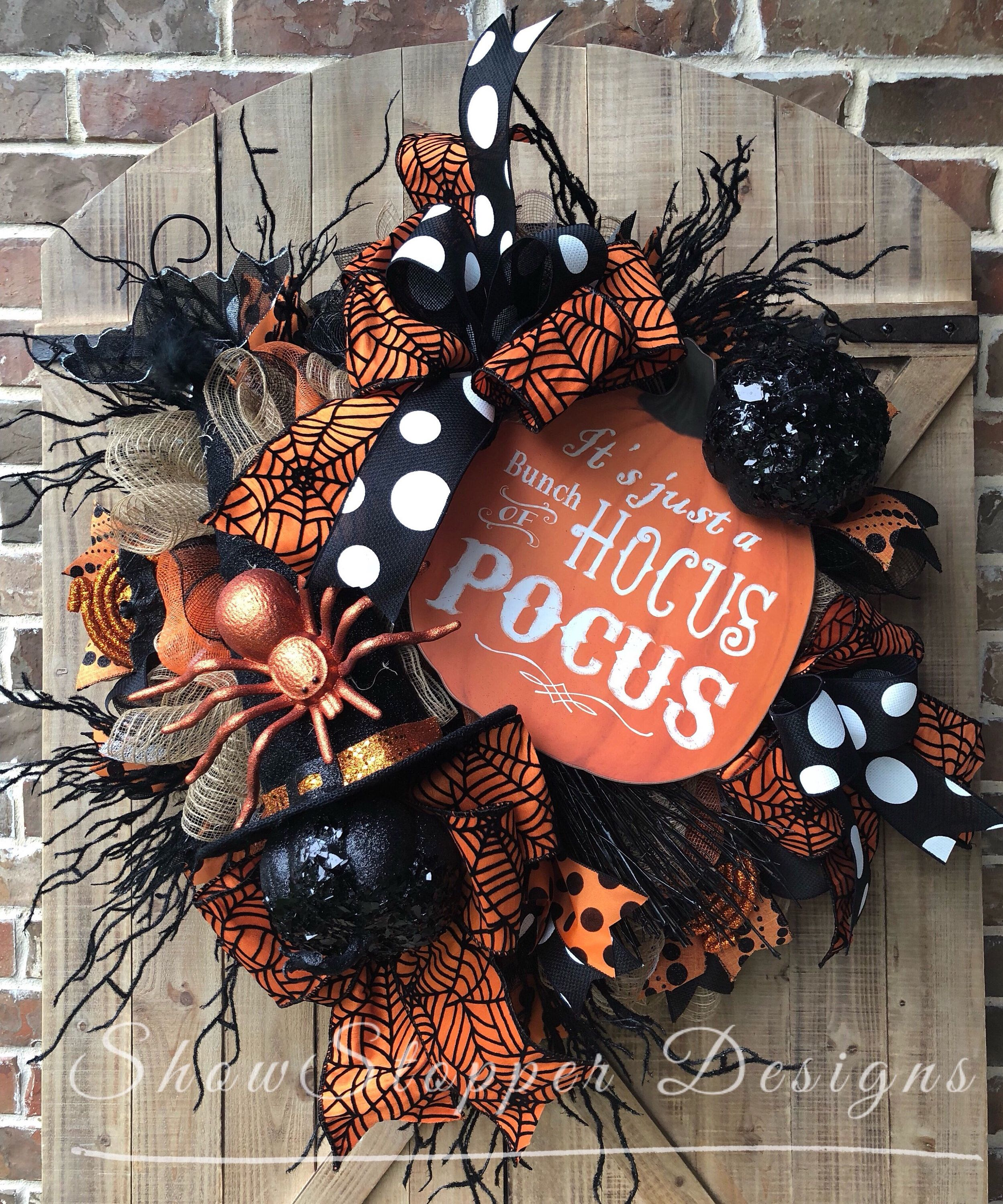 Excited to share this item from my #etsy shop: Witch Wreath,Witch Door Wreath, Wreath,Halloween Wreath,Skelton Door Decor,Skelton Wreath,Witch Door Decor, Halloween Witch,Spider Wreath #halloweenwreaths