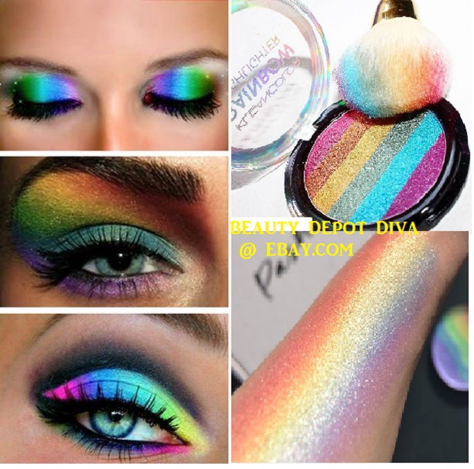 6.99 Cosmetics Eye Shadow Color Makeup Pro Glitter