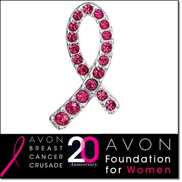 Join the breast cancer crusade & purchase Avon's exclusive line of charity based items at www.youravon.com/TiaJones214
