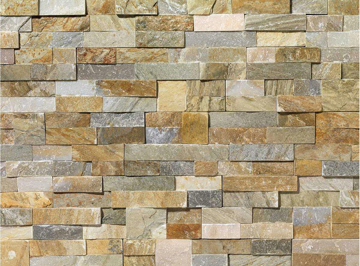 Revestimiento de fachada de piedra natural scaglia by b b - Muro de piedra natural ...