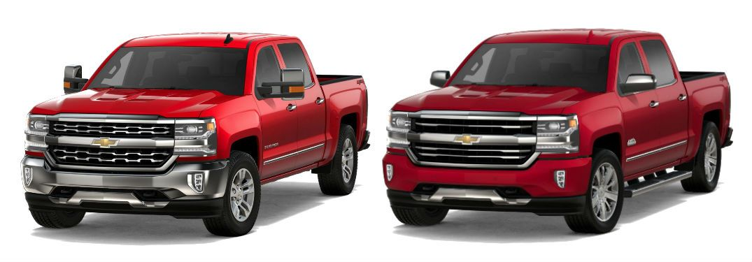 2018 Chevy Silverado Ltz And 2018 Chevy Silverado High Country Both In Red More At Westside Chevro 2018 Chevy Silverado Chevrolet 2018 Chevy Silverado 1500