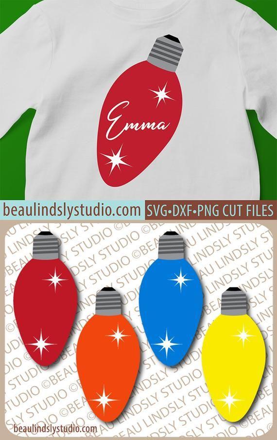 Photo of SVG de luz de Navidad, SVG de bombilla de Navidad, SVG de Navidad para el proyecto Cricut, svg de vacaciones para silueta, listo para que lo personalices