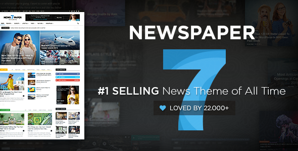 Newspaper V Wordpress News Theme Free Download Blogger