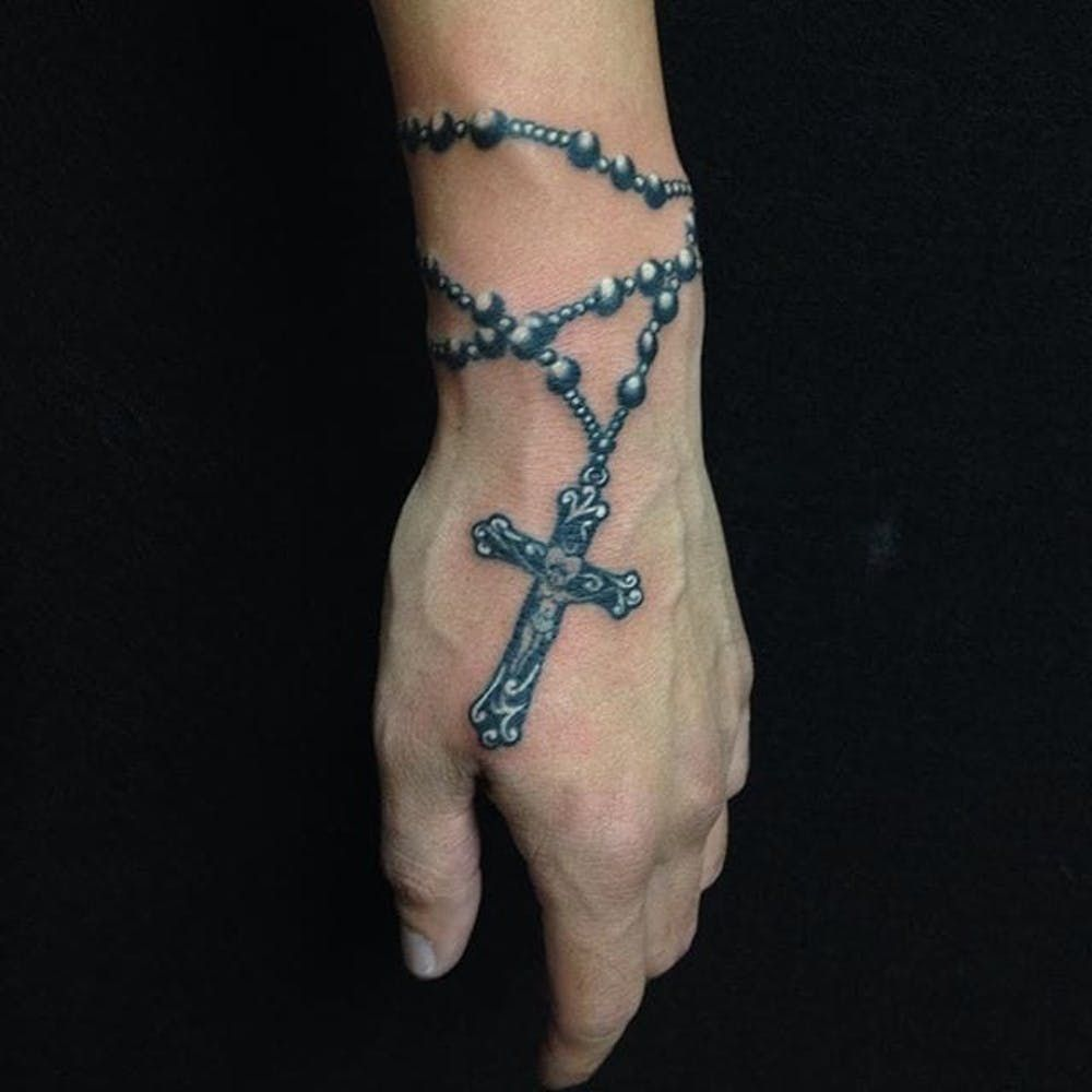 10 Holy Rosary Tattoos