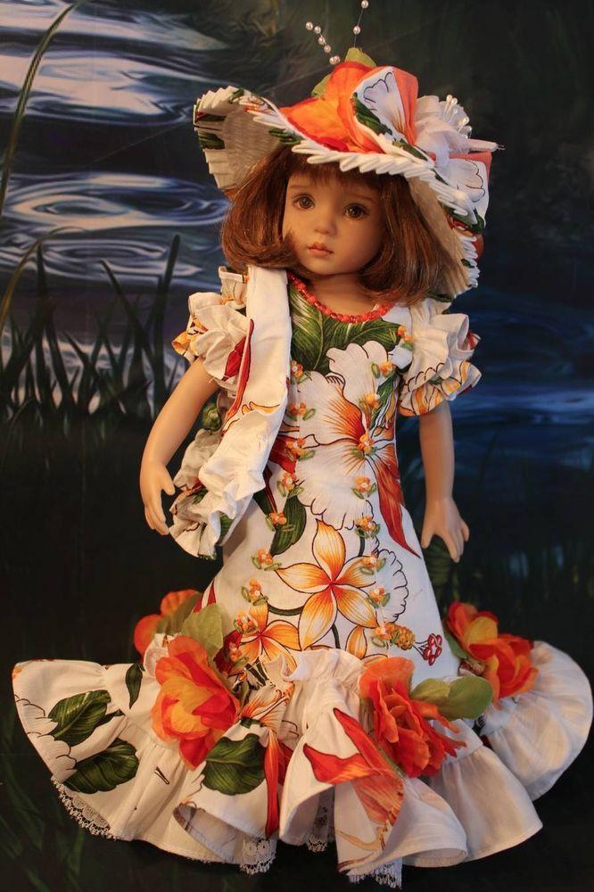 "13"" Effner Little Darling ""TROPICAL PARADISE"" Dress Ensemble #DiannaEffner"