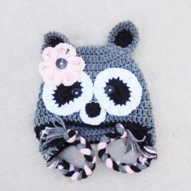 8456dd93141 Novelty Raccoon Earflap Hat