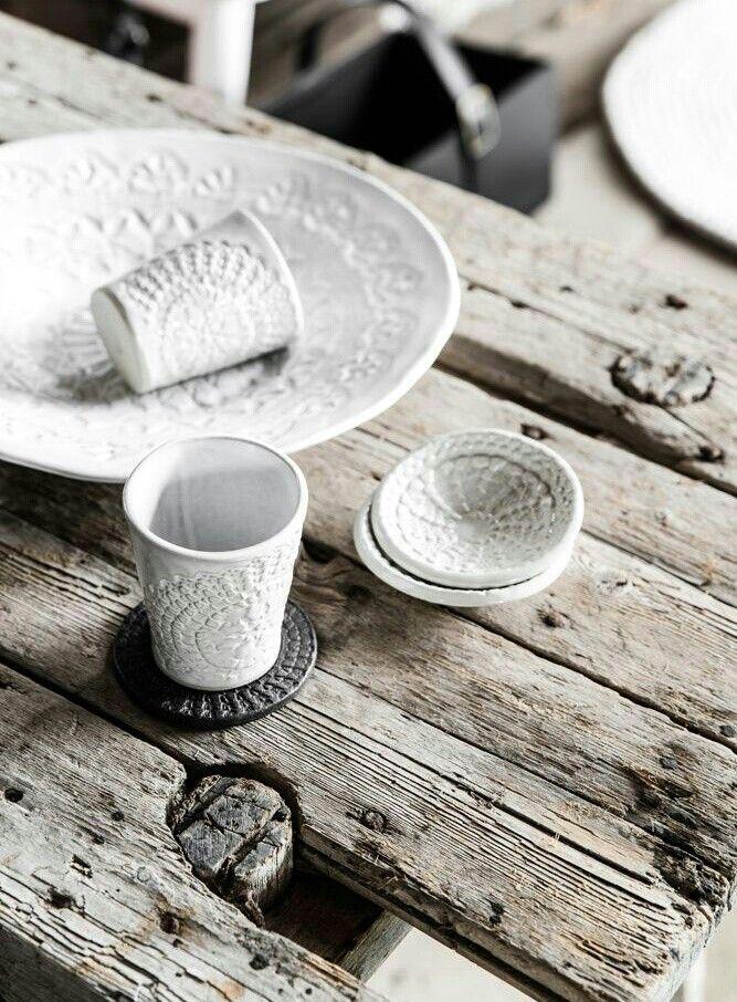 Werannas winter wind down vajillas cer mica y artesanal - Vajilla ceramica artesanal ...