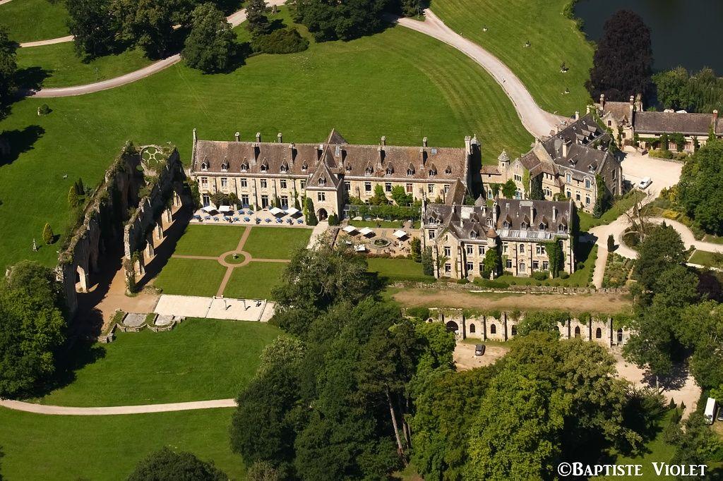 ✈️ Photo aérienne de : Abbaye des Vaux-de-Cernay - Yvelines (78)