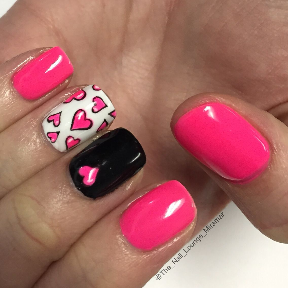 Nail Art Games For Girls Top Star Manicure Salon By Milos: Valentine's Day Heart Nail Art Design