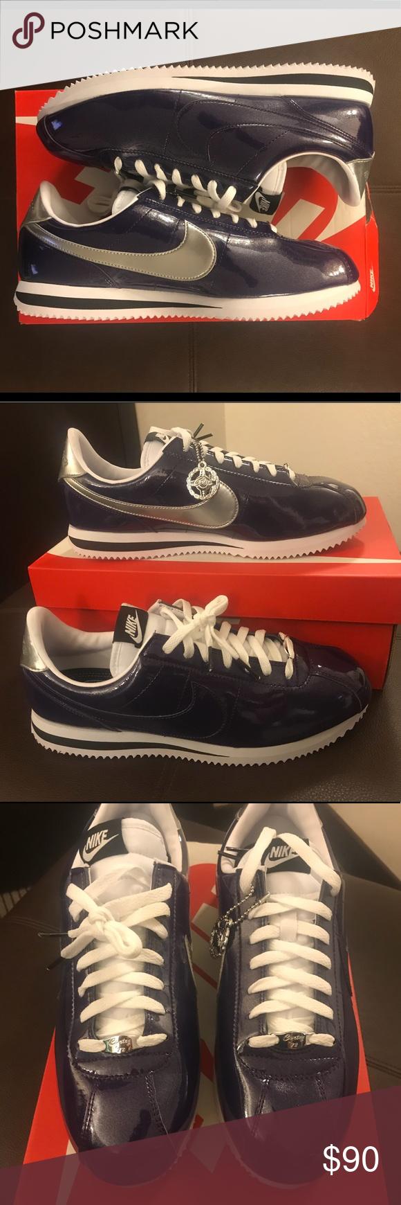 Nike Cortez Premium QS Purple Silver 819721-500