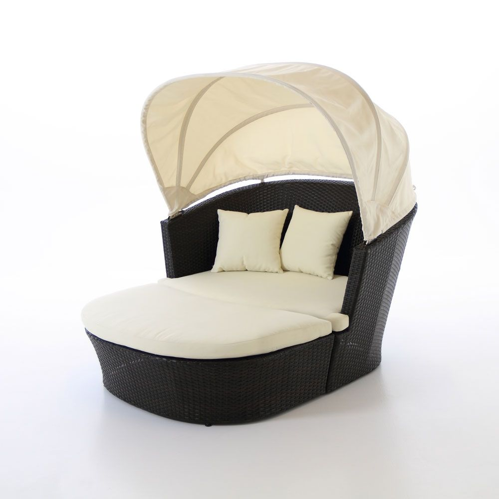 Serenity 2 Piece Circle Lounge with Canopy.