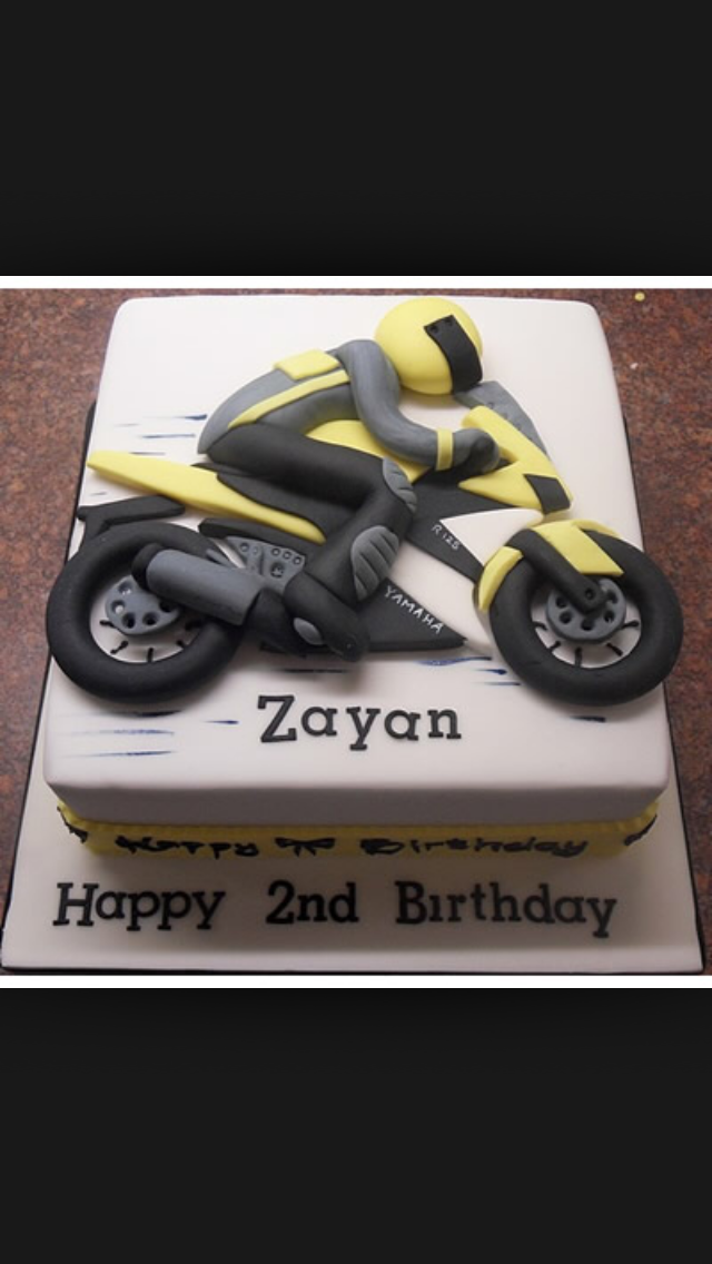 Pin by Bernicha on Birthday cake Pinterest Cake Motorbike cake