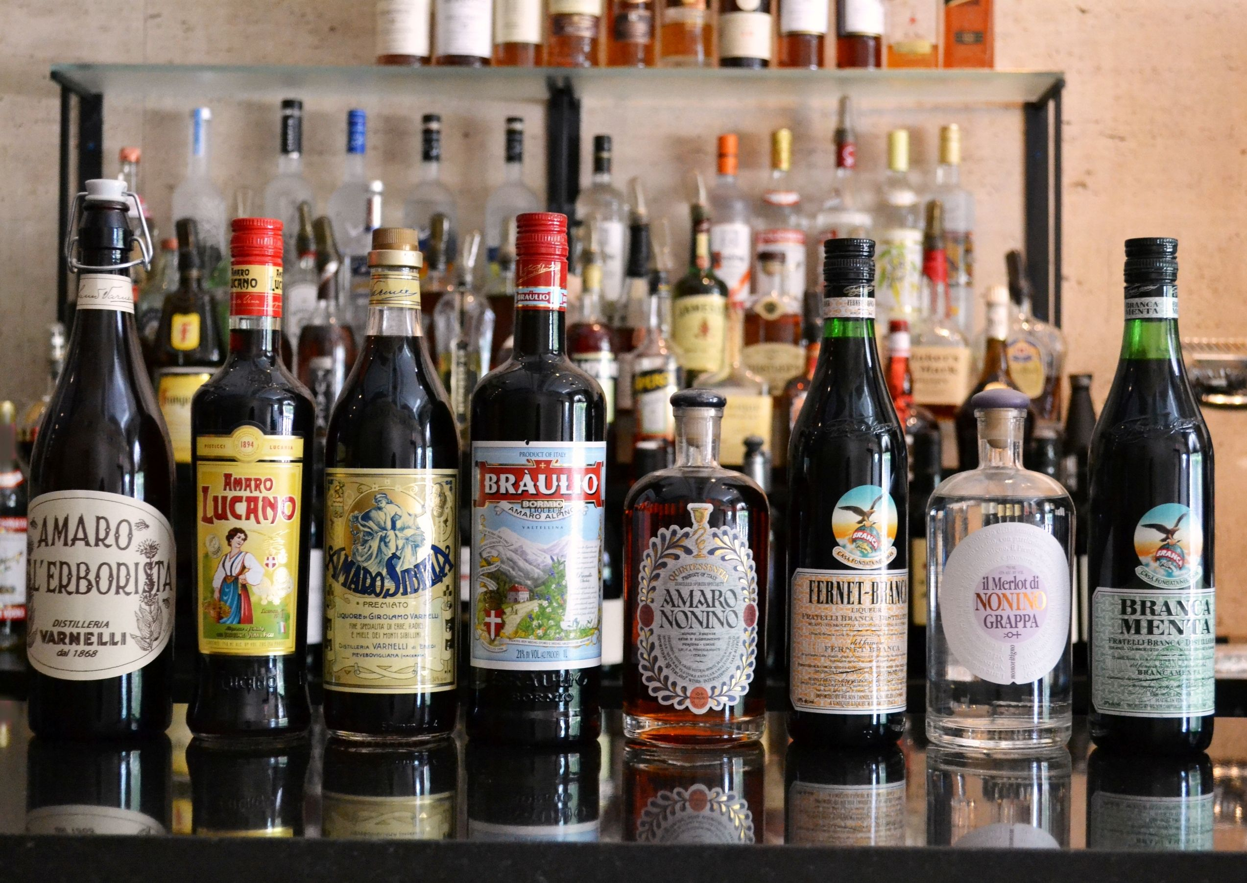 We've got 8 different Amaros here at Teatro! These Italian liqueurs make for the perfect after-dinner drink!