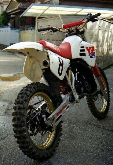 Yamaha Yz125 Motocross Roupa De Motoqueiro Acessorios Para Motos