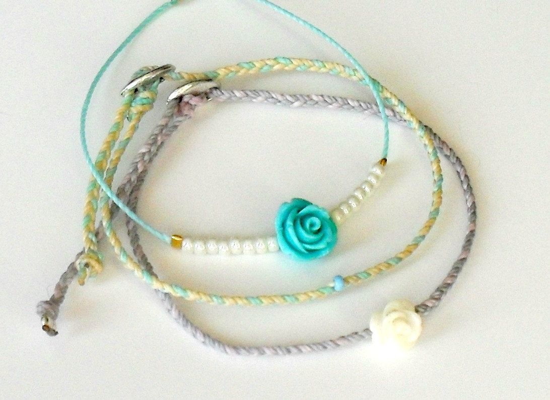 il pineapple cord surfer beach bracelets bracelet proof braided listing water arrow waxed fullxfull set of