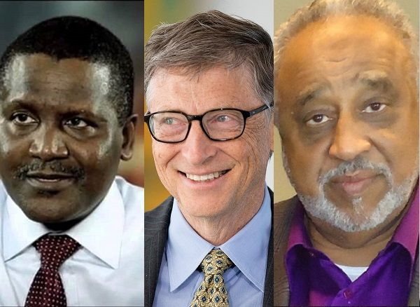 Bill Gates, Aliko Dangote and Mohammed Al-Amoudi to Rebuild