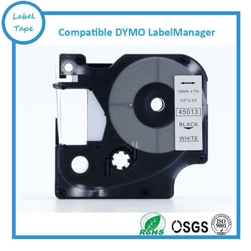 Free shipping 1pcs 45013 labelling tapes compatible dymo d1 - free shipping label maker