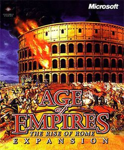 Age Of Empires The Rise Of Rome Computer Game 1998