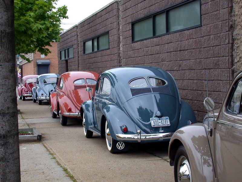 VW Beetles from West Coast Classic Restoration Classic