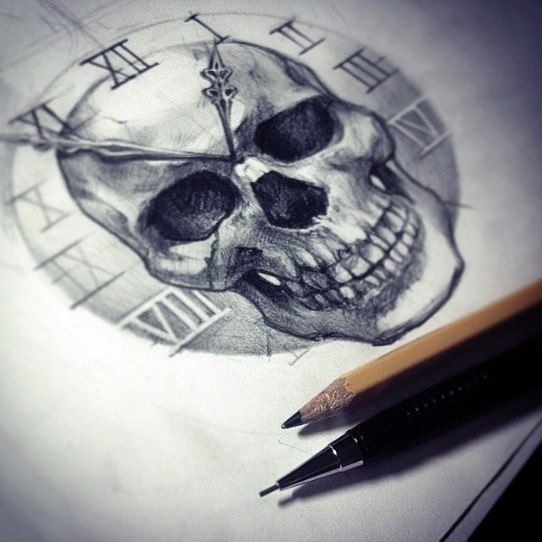 Skull and time
