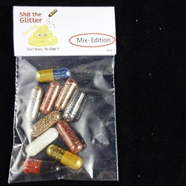 Shit the Glitter: Glitter Pills für euern Kot
