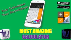 Most Amazing Calculator Secret Calculator Secret Vault Calculator Hide Your Data Urdu Hindi Calculator Calculators Omni