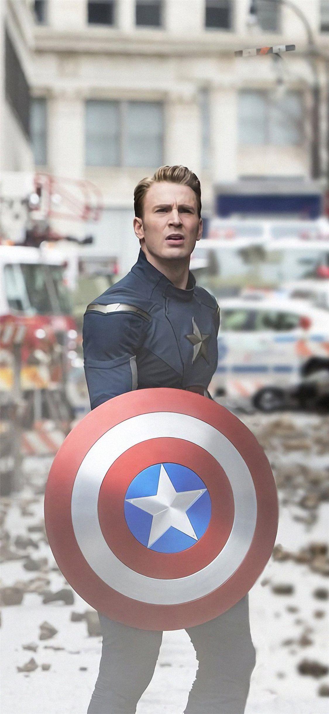 captain america tony stark antman in avengers endg... Wallpaper